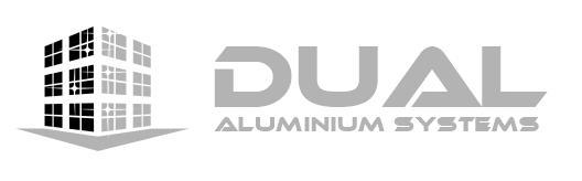 DUAL aluminium systems